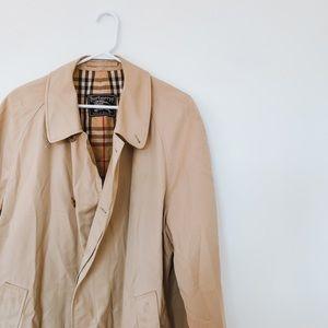 Burberry Tan Men's Trench Coat